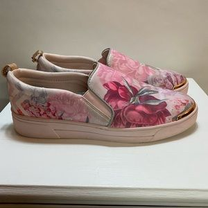 Ted Baker London Floral Slip On Shoes